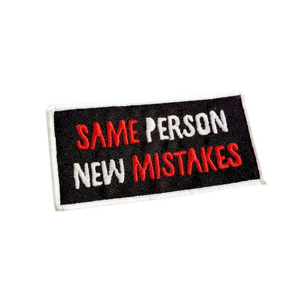 Same Person New Mistakes Patch