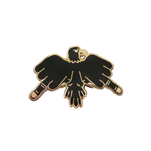Flip The Bird Pin