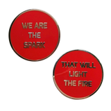 We are the Spark Pin Set