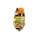 Haunted House Pin (Glows in the Dark)