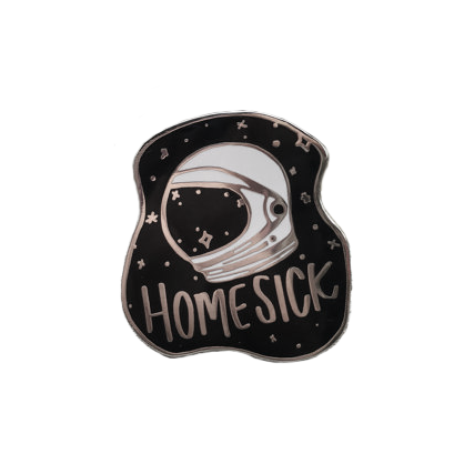 Homesick Pin