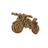 Scribble Motorcycle Pin