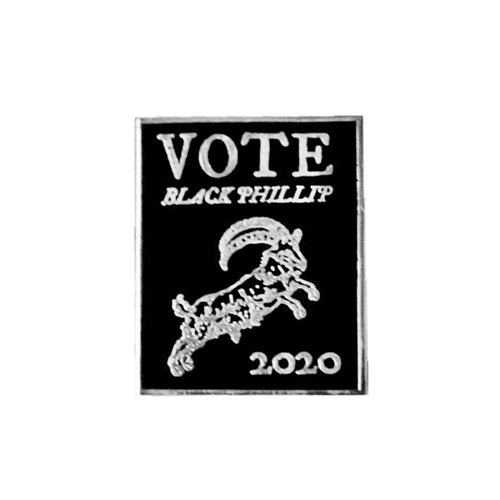 Black Phillip 2020 Pin