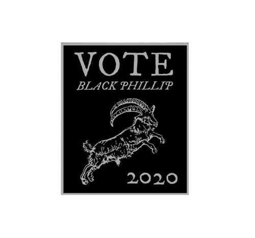 Black Phillip 2020 Sticker