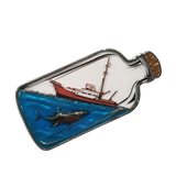 Jaws Shipwrecked Translucent Pin
