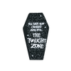 Twilight Zone Coffin Pin