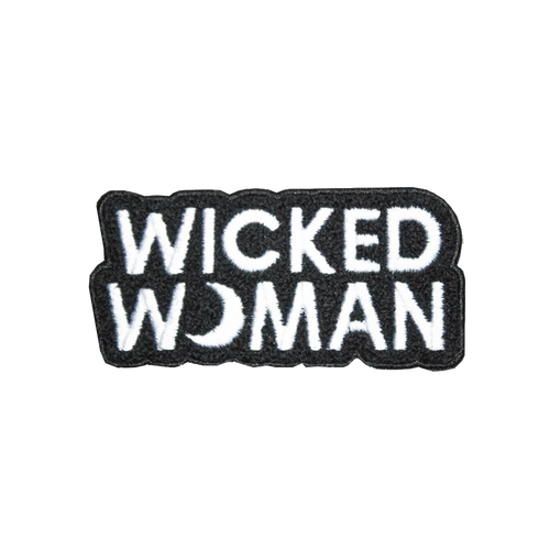 Wicked Woman Chenille Patch