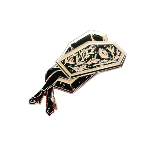 Coffin Girl Pin