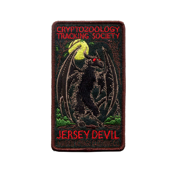 Cryptozoology Jersey Devil Patch
