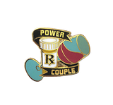 Power Couple Pin