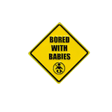 Bored With Babies Pin