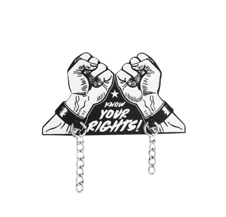 No Bar Fights Pin