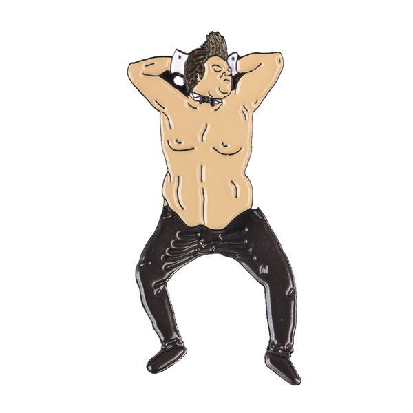 Chippendales Chris Farley Pin (It Moves!)