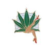 Lady Leaf Pin