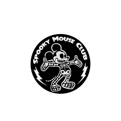 Spooky Mouse Club Pin