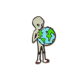 Earth Alien Pin
