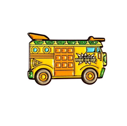 TMNT Party Wagon Pin