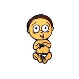 Baby Morty Pin