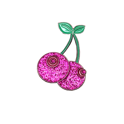 Cherry Boobs Pin