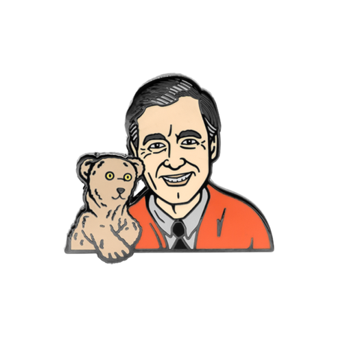 Mr. Rogers Pin