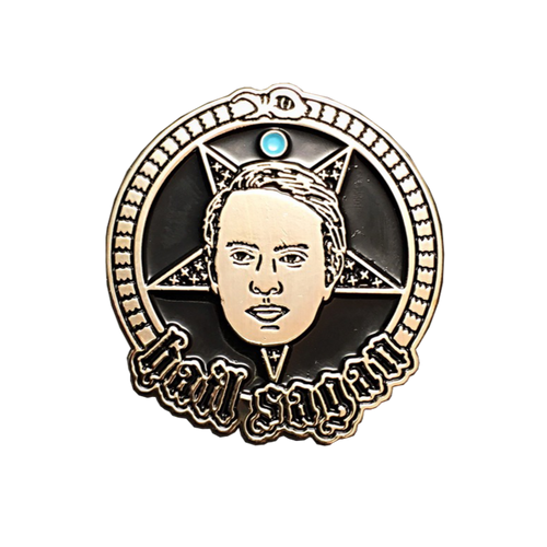 Hail Sagan Pin