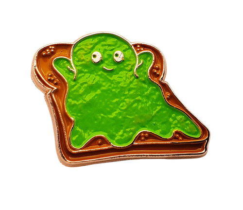 Avocado Ghost Pin