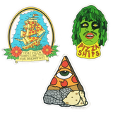 Pizza Ships Sticker Pack