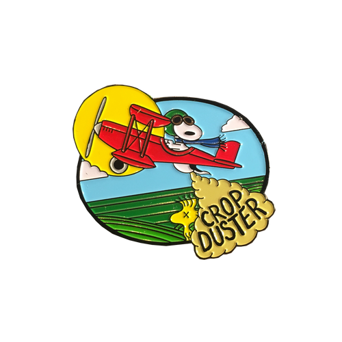 Crop Duster Pin