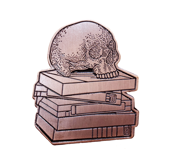 VHS or Die Pin