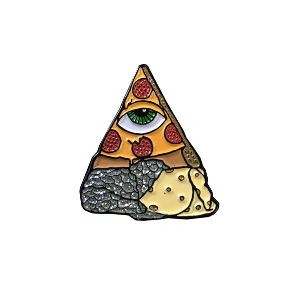 Burrizza Illuminati Pin