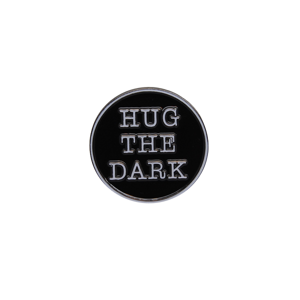 Hug the Dark Pin (Glows in the Dark)