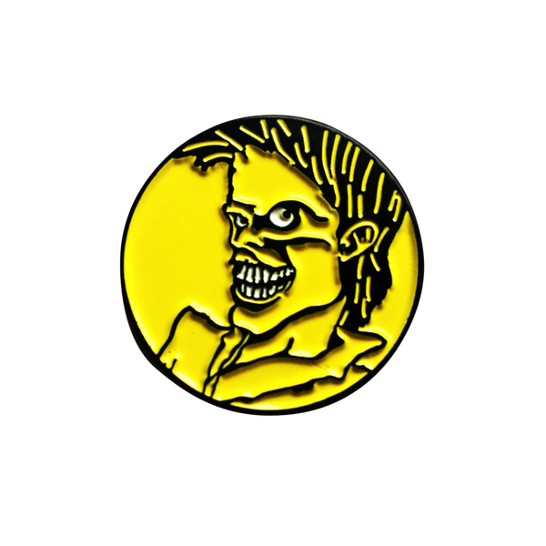 The Cramps Lux Interior Pin