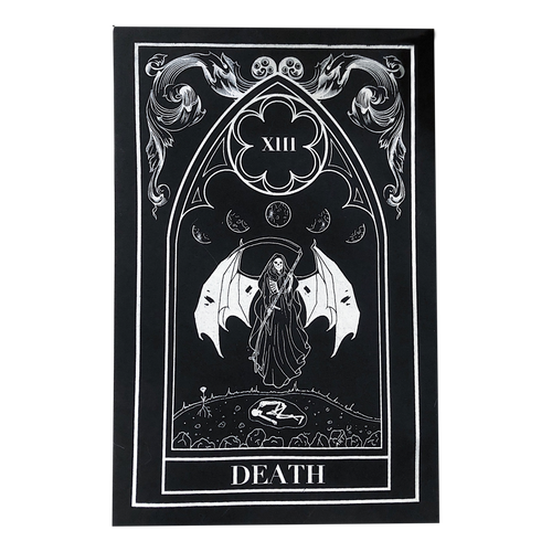 Death Tarot Back Patch
