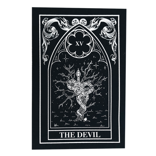 Devil Tarot Back Patch