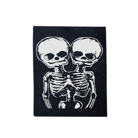 Bonehead Canvas Back Patch