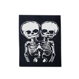 Conjoined Skulls Patch