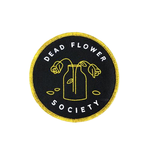 Dead Flower Society Patch