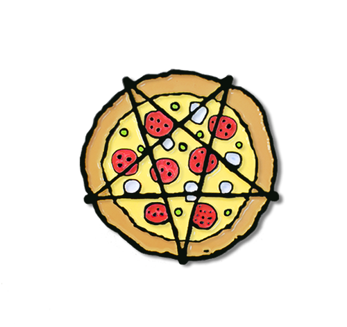 Hail Pizza Pin