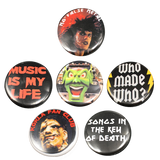 Horror Rockers Button Pack