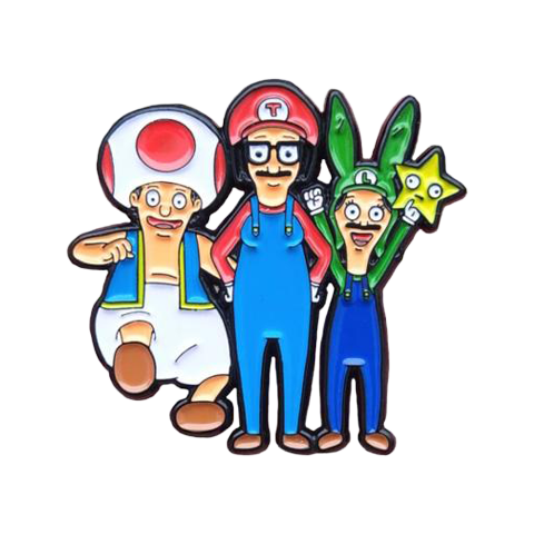 Super Belcher Brothers Pin
