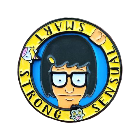 Tina Belcher Mood Spinner Pin