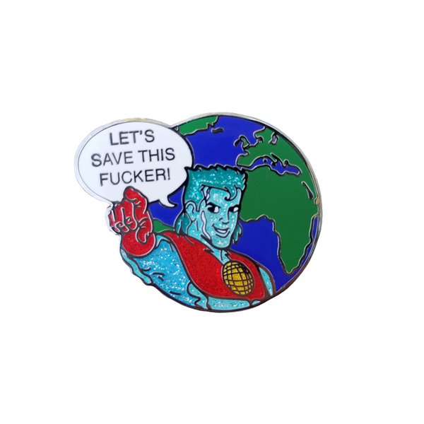 Captain Planet Pin