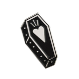 Love Coffin Pin