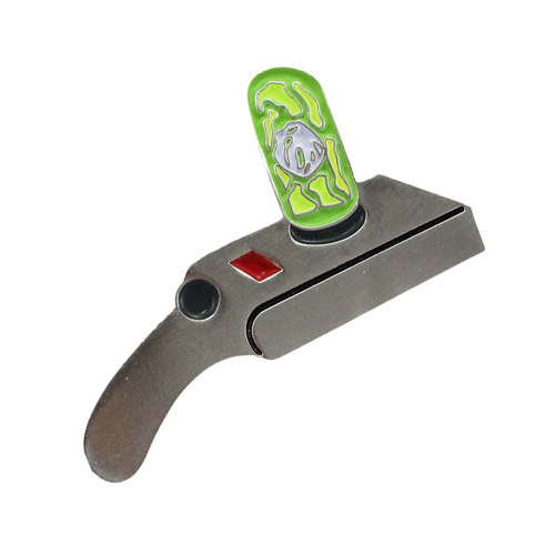Rick and Morty Portal Gun Pin (Glows in the Dark!)