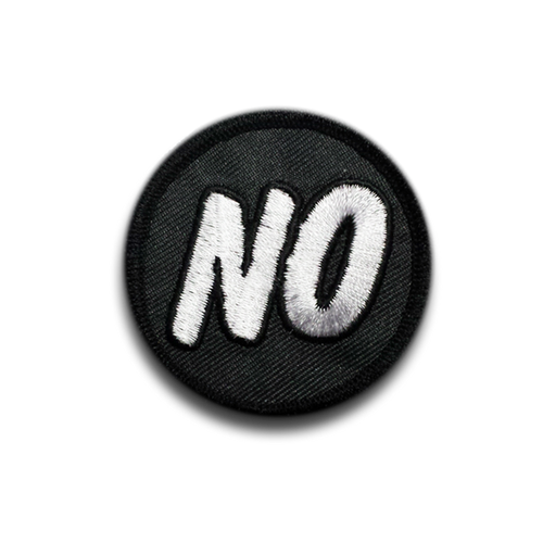 NO Honor Badge Patch