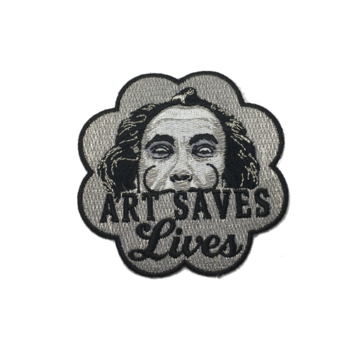 Art Saves Lives Patch