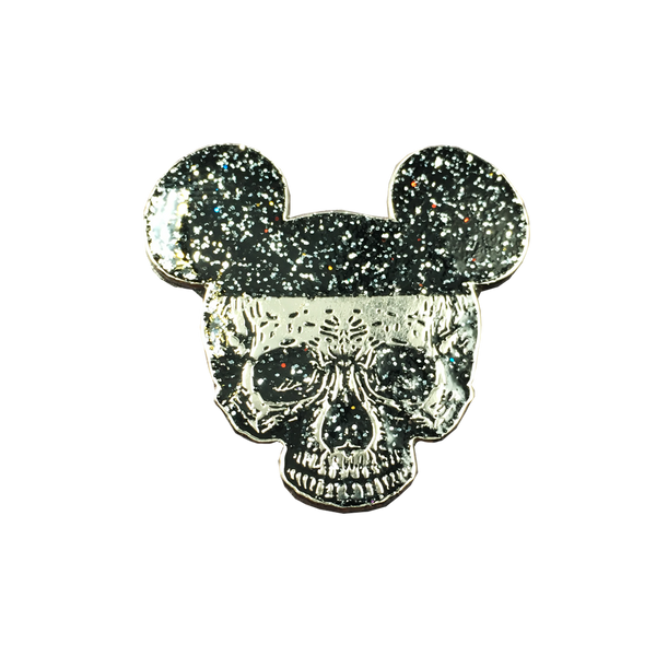 Mickey Death Head Pin