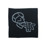 Barfing Skull Canvas Patch