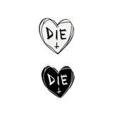 Die Heart Pin