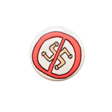 Nazi Dicks Fuck Off Button
